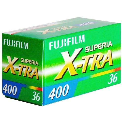 Pellicule photo FUJI Superia X-TRA 400 iso 135/36P L'unité