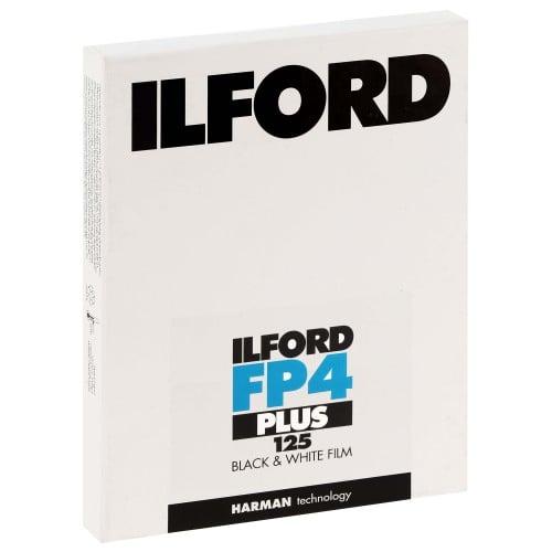 FP4 PLUS 125 Format 4x5 inch - 25 feuilles - à l'unité