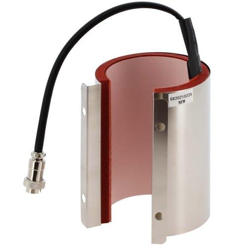Secabo Elément chauffant 60mm - 75mm pour presses TM1, TM2 et TM5