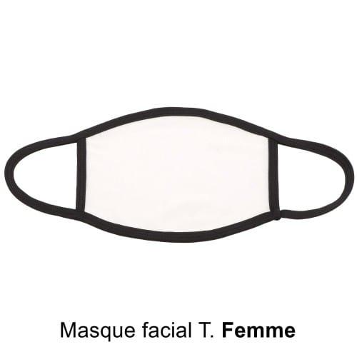 Masque facial Femme pour sublimation (1p) *
