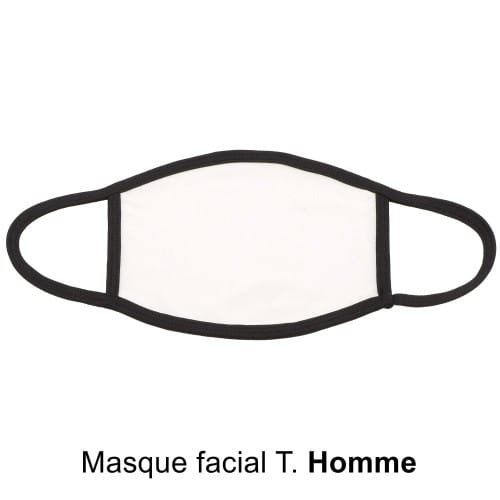 Masque facial Homme pour sublimation (1p) *