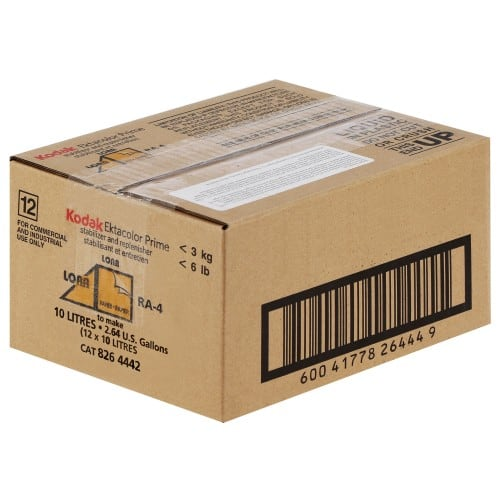 KODAK - Stabilisant RA-4 Ektacolor Prime LORR - pour faire 12 x 10 L (8264442)