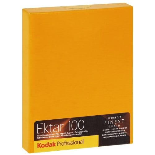 EKTAR 100 Format 4x5 inch - 10 feuilles - à l'unité