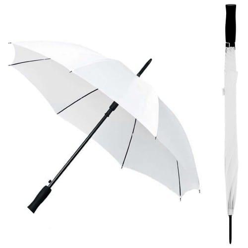Parapluie TECHNOTAPE blanc - Diamètre 102cm