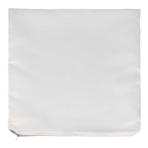 Housse de coussin blanche 40x40cm pour sublimation (l''unité)