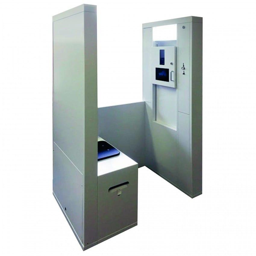 Cabine identité Photoplus IDECAB pour CNI - Permis de conduire - Passeport - Carte Vitale - Permis de séjour - Compatible ANTS -