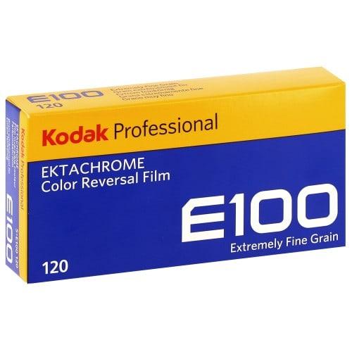 couleur EKTACHROME E100 Format 120 - Pack de 5