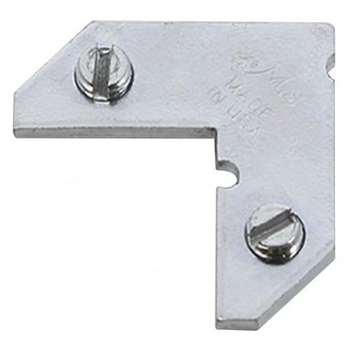 Angle à vis pour montage des baguettes d'espacement en alu (prévoir 4 pièces)