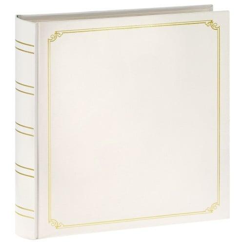 ZEP - Album photo adhésif Mariage ADHESIVE - 50 pages - 300 photos - Couverture Blanche 35x35cm