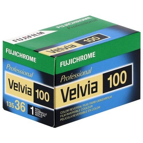 couleur VELVIA RVP 100 Format 135 - 36 poses - à l'unité