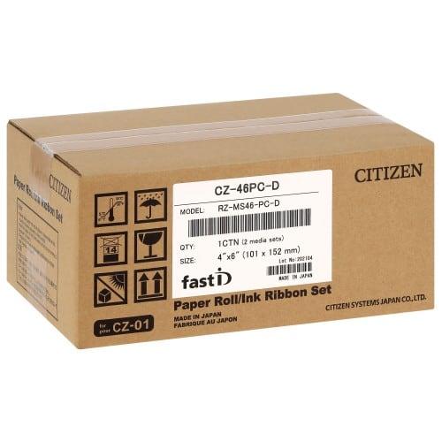 pour FAST-ID - Carton de 108 tirages 10x15cm (distribué depuis 2021)