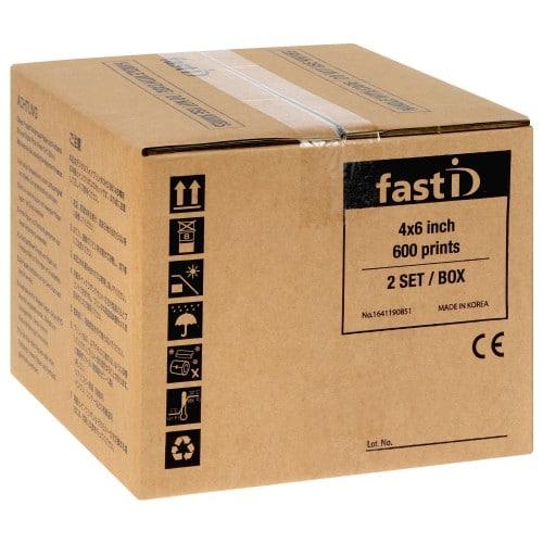 Papier thermique identité ID STATION pour imprimante NEW-FAST-ID - Carton de 600 tirages 10x15cm