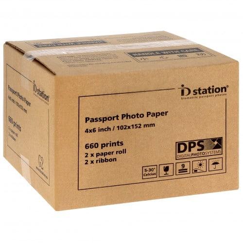 ID Station consommable pour kiosk identités (660V) - G2