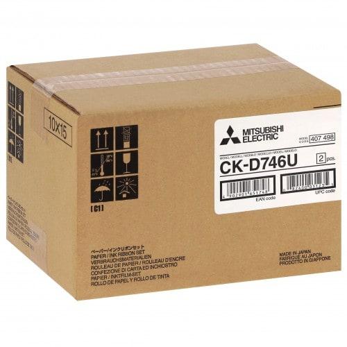 CK-D746U pour kiosk Easyphoto ID70 - Carton de 2 x 400 tirages