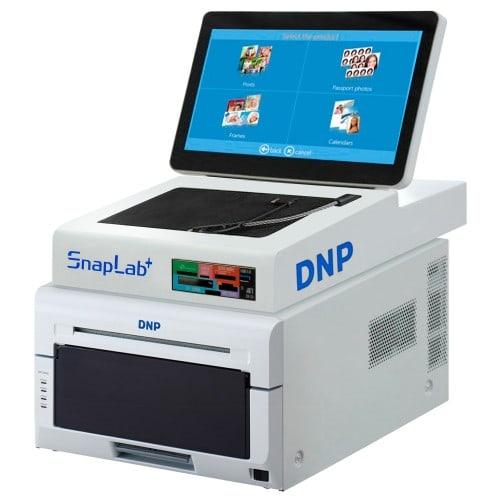 Kiosk (avec imprimante) DNP SNAPLAB DP-SL620 II : Imprimante DS620 + borne DTT6MINI (10x15 et 15x20 avec un seul consommable)
