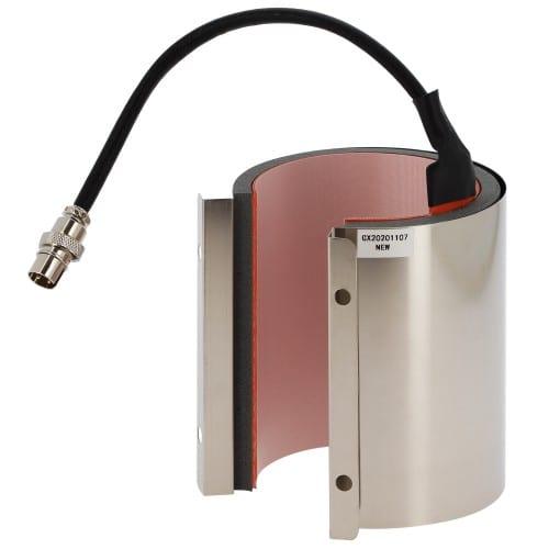 Elément chauffant diamètre 7,5-8,5cm / 11oz pour presse à Mug Secabo TM1 (Réf : STM1) et Transmax TMMME6V6 (Réf. TMPS032)