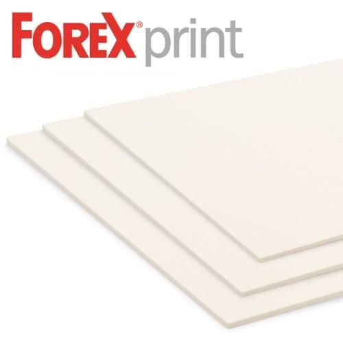 FOREXPRINT - Panneau PVC 1 face adhésive