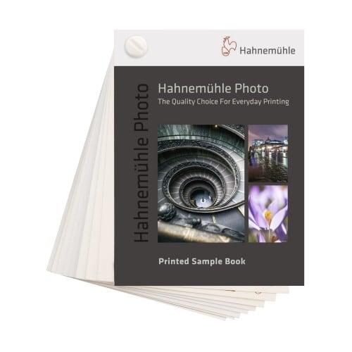 HAHNEMÜHLE - Papier jet d'encre - Printed Sample Book - Collection Hahnemühle Photo - Format A6