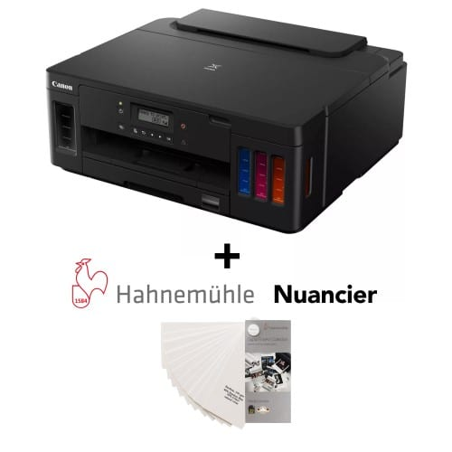 CANON - Imprimante jet d'encre - Pack Pixma G5050 + Nuancier FineArt Hahnemühle