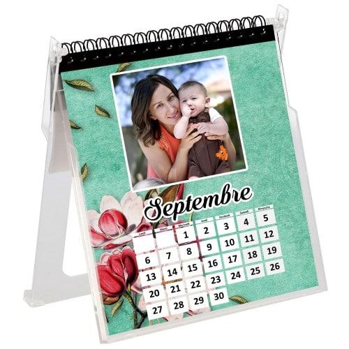 Support calendrier MITSUBISHI de Bureau (pour Imprimante recto-verso CP-W5000DW) - 15x15cm