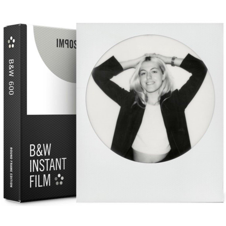 film instantané impossible pour polaroid 600/one 600 - cadre rond