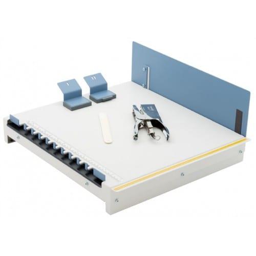 Relieur FASTBIND BooXTer Express Mini - Réalisation d'albums agrafés ou contre-collés jusqu'au format 305x305mm - Livré avec kit