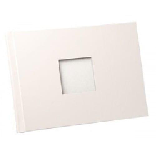 Couverture FASTBIND BooXTer - Lot de 10 - A4 Paysage avec fenêtre - Blanche