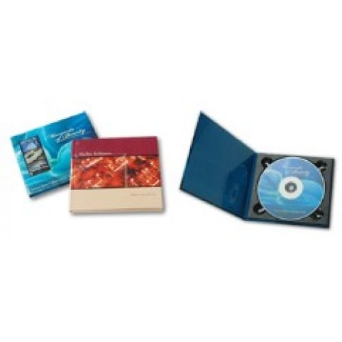 Couverture FASTBIND pour CD/DVD/ Blu-Ray - Compatible Casematic, Case Express, BooXter