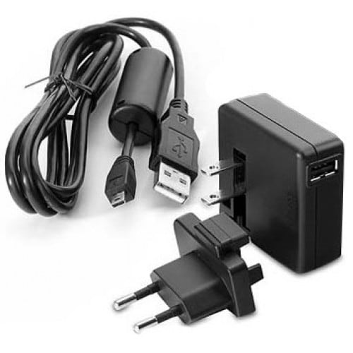 Chargeur NIKON via USB  pour Coolpix S02/S3400/S3500/S5200/ S6500/S6600/S9400/S9500 Adapt. PW-PC50EA prise Europe  (EH-7