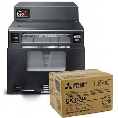 Imprimante thermique MITSUBISHI + PC SMARTD90EV - du 10x15 au 15x23 - Spécial événementiel et photographe pro (Wifi) - Impressio