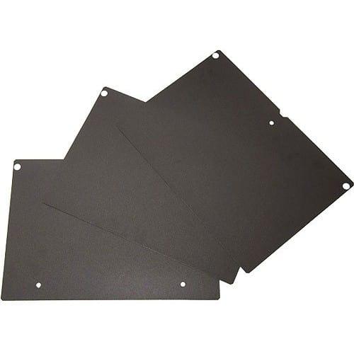 Accessoire imprimante 3D MAKERBOT - Surface agrippante noire pour plateau (lot de 3)