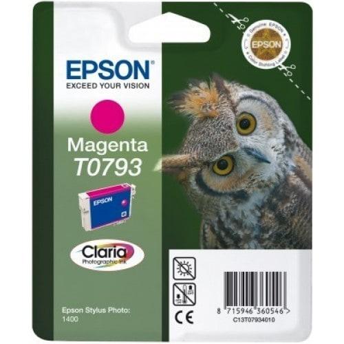 Cartouche d'encre EPSON T0793 Chouette - Magenta