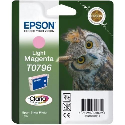 Cartouche d'encre EPSON T0796 Chouette - Magenta clair