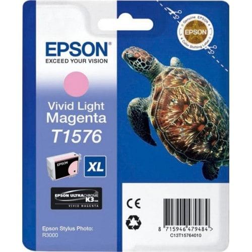 Cartouche d'encre EPSON T1576 Tortue - Magenta clair