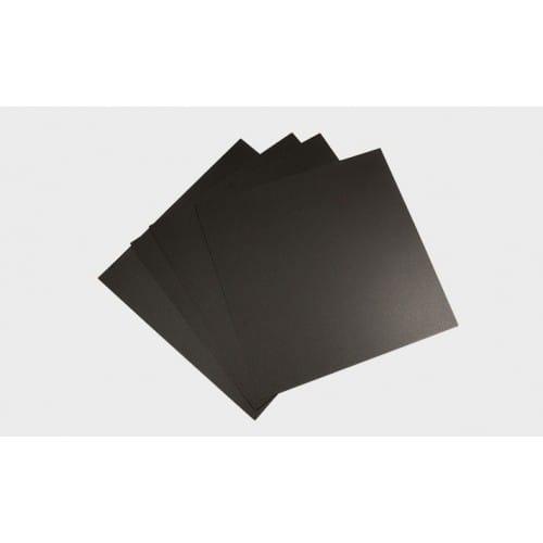 Accessoire imprimante 3D MAKERBOT - Feuillet Adhésif Noir pour plateau (lot de 4) - Compatible MakerBot Replicator Z18