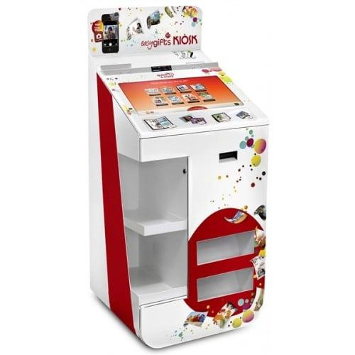 Kiosk (avec imprimante) MITSUBISHI KIOSKGIFTS COMPACT Logiciel pré-installé - Imprimante CP-D80DWS - Imprimante ticket - Ecran S