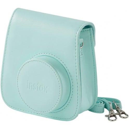 Etui appareil photo FUJI Instax mini - Bleu givré - Pour Instax Mini 9 - convient au Mini 8