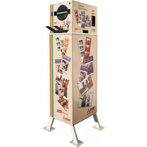 Meuble MITSUBISHI : Stand pour imprimante thermique SMARTD90EV