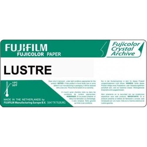 Papier argentique FUJI Crystal Archive Lustré - marqué au dos - 17,8cm x 90m - Carton de 2 rouleaux