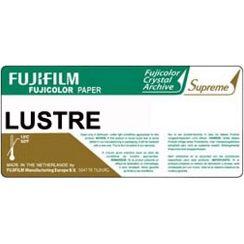 Papier argentique FUJI Crystal Archive Suprême Lustré - marqué au dos - 15,2cm x 170m - Carton de 2 rouleaux