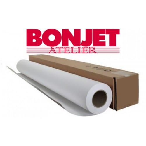 """Papier jet d'encre BONJET Atelier baryté fibre 310g  44"""" (1118mm x 15m)"""