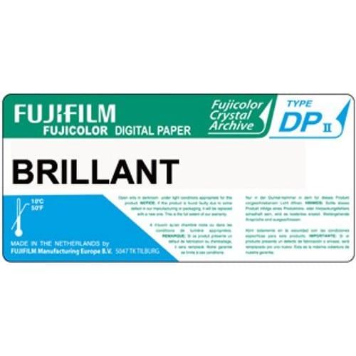 Papier argentique FUJI Digital Crystal Archive DPII Brillant - non marqué au dos - 17,8cm x 83,8m - Carton de 2 rouleaux