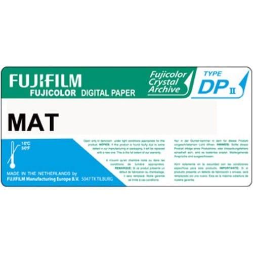 Papier argentique FUJI Digital Crystal Archive DPII Mat - non marqué au dos - 17,8cm x 83,8m - Carton de 2 rouleaux
